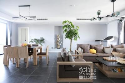 【国博新城】200平别墅现代装修效果