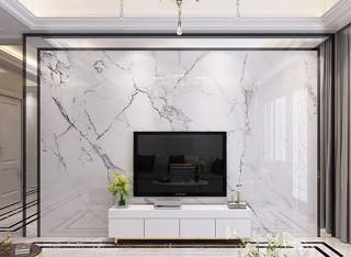 轻奢风现代简约金属镶嵌背景墙