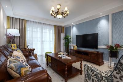 美式三居室装修 打造舒适家居生活
