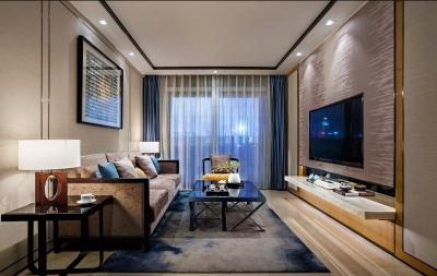 新中式二居室装修  蕴育东方之美