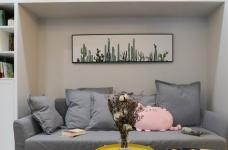 【北欧】57平一室一厅自在空间图_10