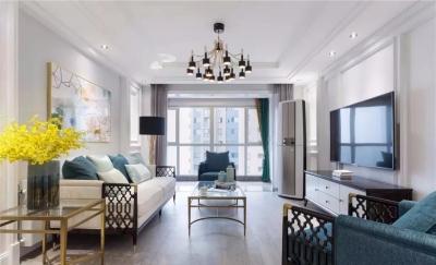 124平米轻奢美式三居室