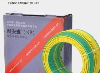 耐克森ZBBV环保阻燃电线1.5平方双色