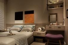 【北欧】一室一厅45平北欧装修效果图_6