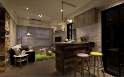【北欧】一室一厅45平北欧装修效果