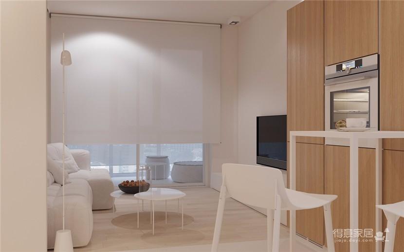 52平米现代简约公寓