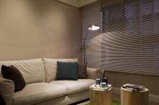 【北欧】一室一厅45平北欧装修效果图_4