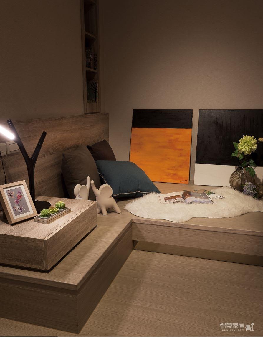 【北欧】一室一厅45平北欧装修效果图_7