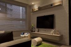 【北欧】一室一厅45平北欧装修效果图_2