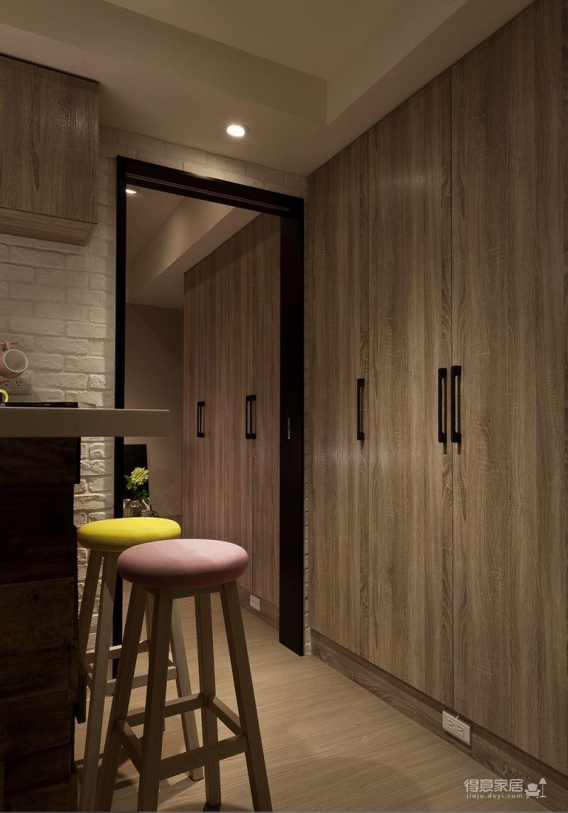 【北欧】一室一厅45平北欧装修效果图_9