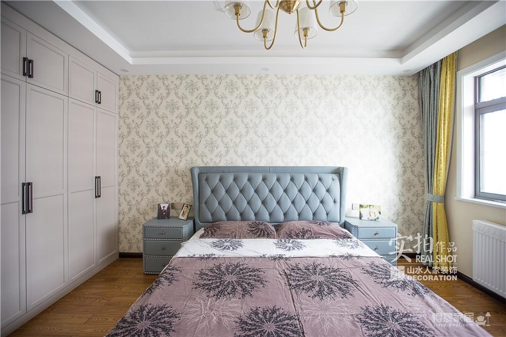 【怡芳苑】142平三室两厅现代轻奢装修效果图_7