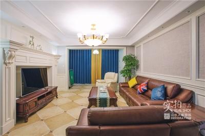 【联泰金域水岸】138平美式三室装修效果
