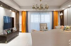 【怡芳苑】142平三室两厅现代轻奢装修效果图_2