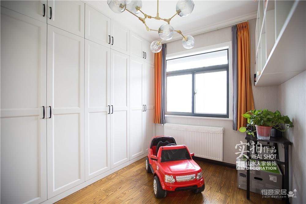 【怡芳苑】142平三室两厅现代轻奢装修效果图_8