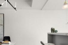 无境-135㎡简约灰白色设计图_7