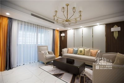 【怡芳苑】142平三室两厅现代轻奢装修效果