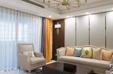 【怡芳苑】142平三室两厅现代轻奢装修效果图_1