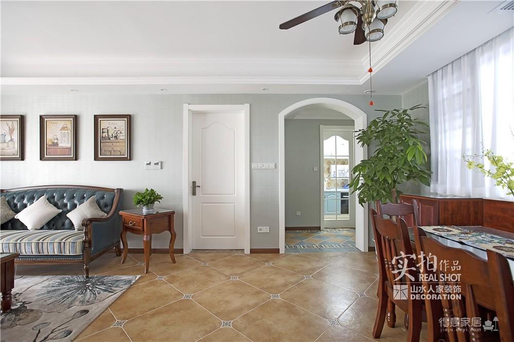 【联泰香域水岸】133平三室美式装修风格图_18