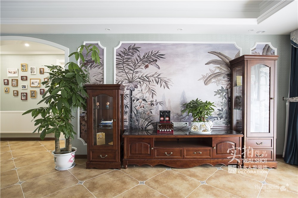 【联泰香域水岸】133平三室美式装修风格图_6