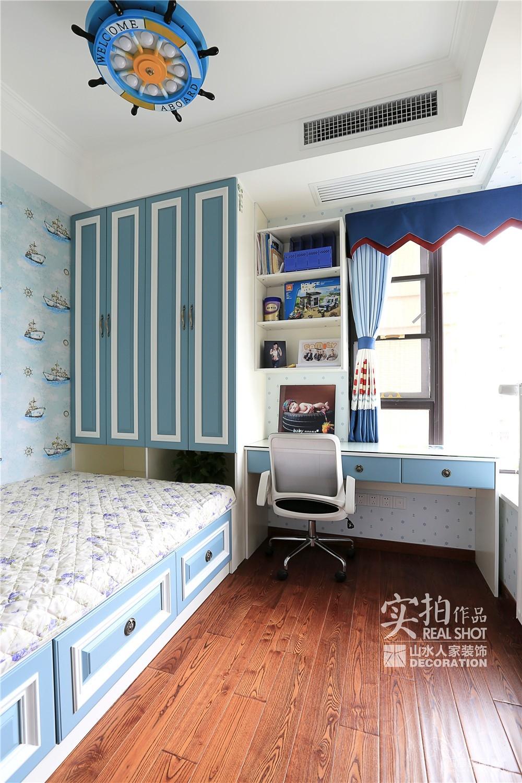 【联泰香域水岸】133平三室美式装修风格图_21