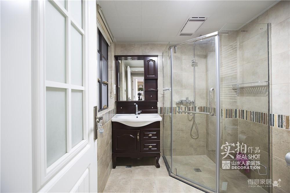 【联泰香域水岸】133平三室美式装修风格图_20