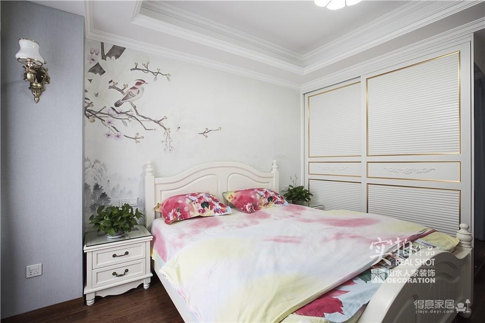 【联泰香域水岸】133平三室美式装修风格图_13