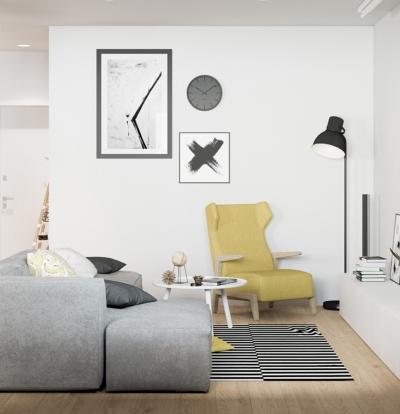 【简约】复式公寓设计
