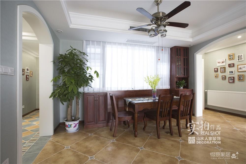 【联泰香域水岸】133平三室美式装修风格图_17