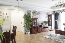 【联泰香域水岸】133平三室美式装修风格图_16