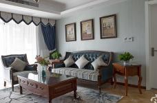 【联泰香域水岸】133平三室美式装修风格图_10