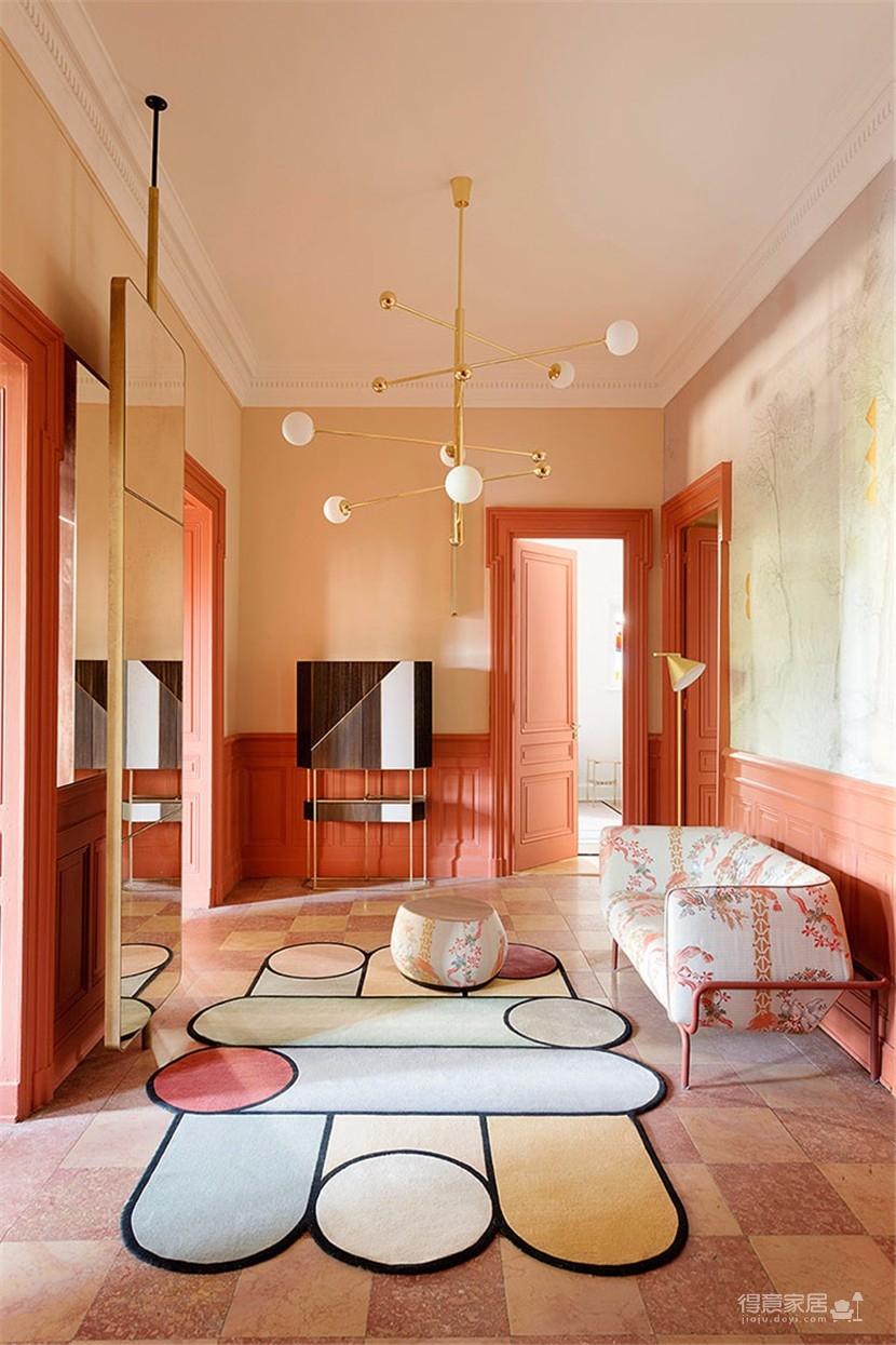 这间欧式现代公寓,用色彩传达情绪图_7