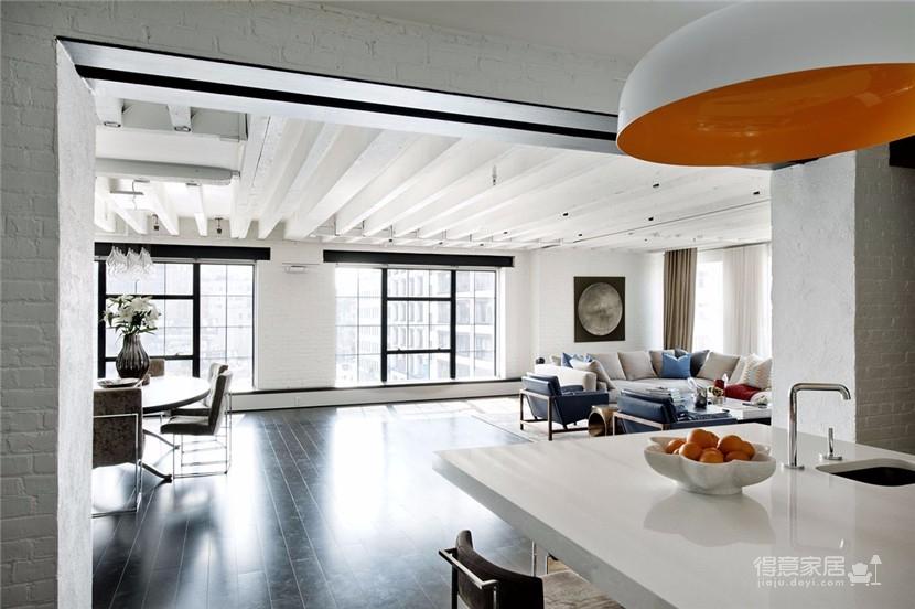 明亮典雅的现代公寓图_3