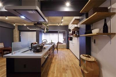 工业自然混搭两居室