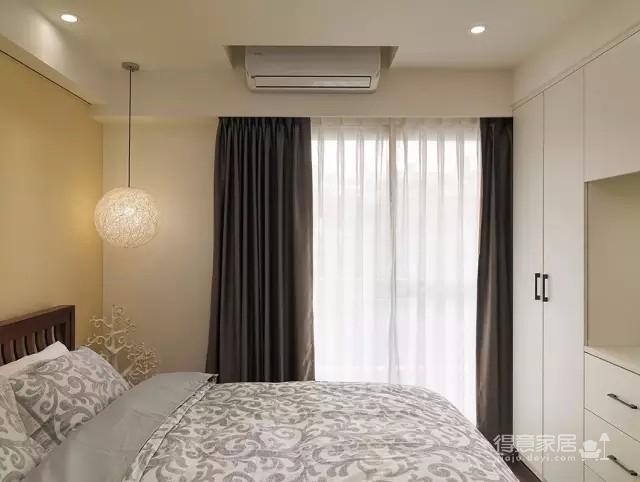 拥有自然气息的98平新东南亚原木公寓图_5