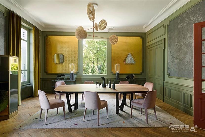 这间欧式现代公寓,用色彩传达情绪图_6