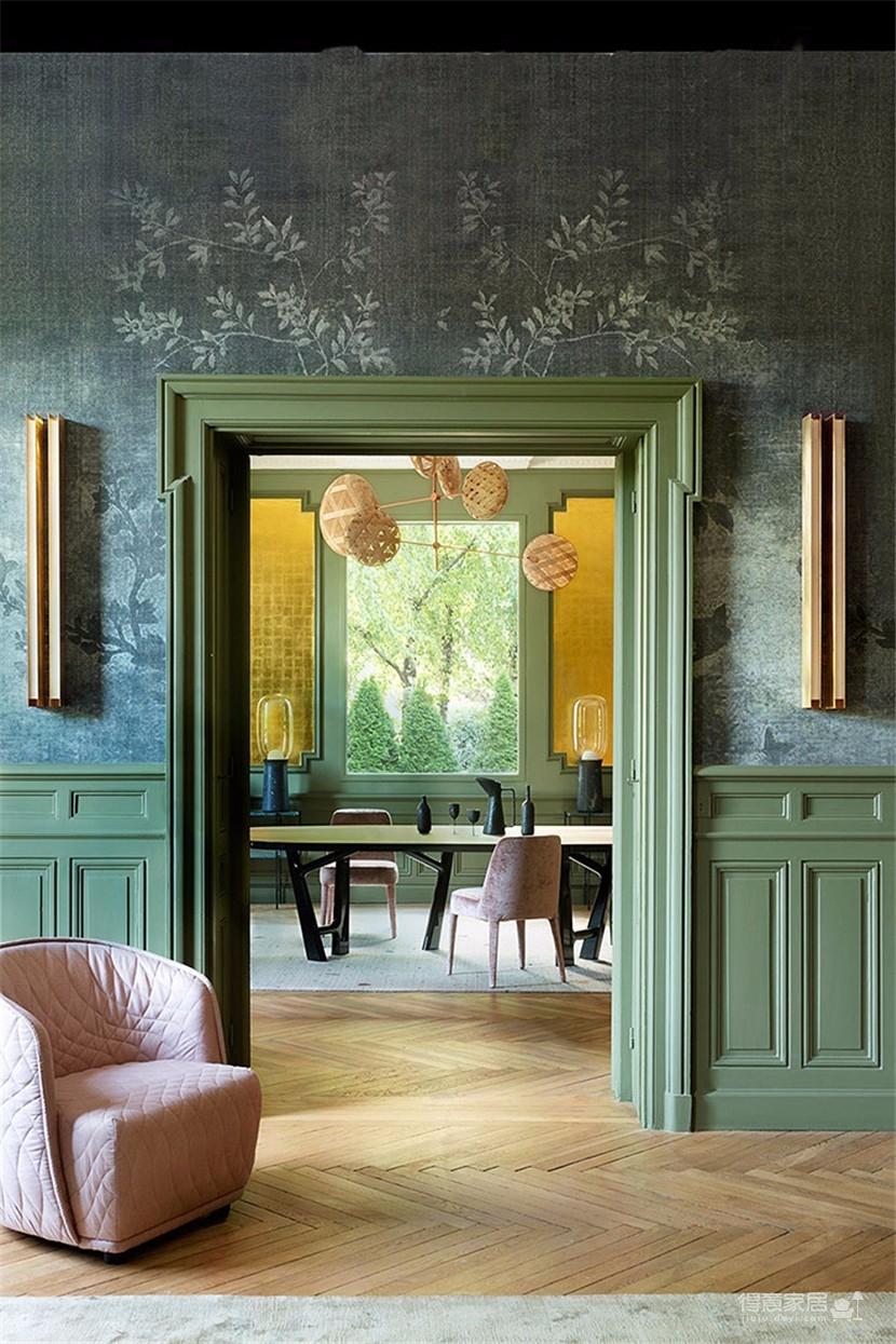 这间欧式现代公寓,用色彩传达情绪图_1
