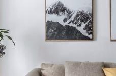 90㎡简约北欧混搭风三居室,温暖木质营造温馨氛围! 图_4