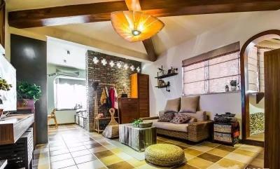 58平东南亚风格单身公寓《隐这里》