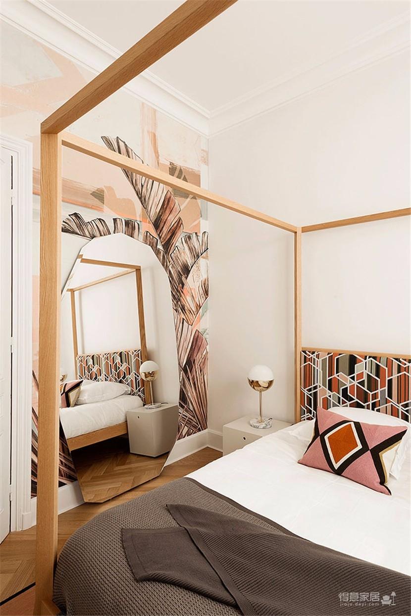 这间欧式现代公寓,用色彩传达情绪图_5