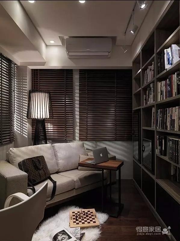 拥有自然气息的98平新东南亚原木公寓