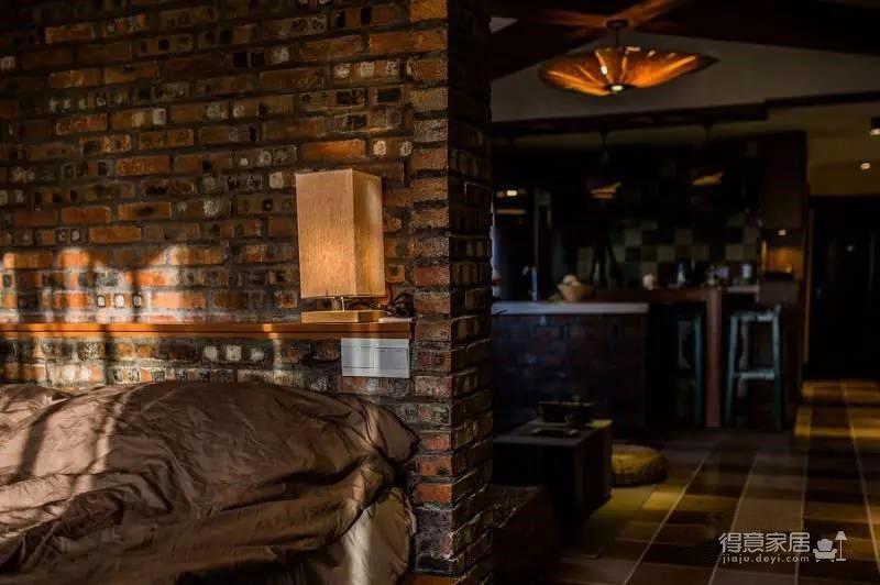58平东南亚风格单身公寓《隐这里》图_8