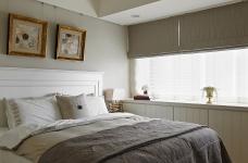【美式】140平三室两厅美式装修效果图_3