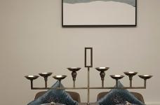 现代风格雅致灰调设计系列——用黑白灰的图案提升空间结构图_7