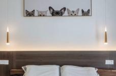 90㎡简约北欧混搭风三居室,温暖木质营造温馨氛围! 图_5