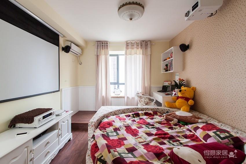 【地中海】110平三室地两厅装修效果
