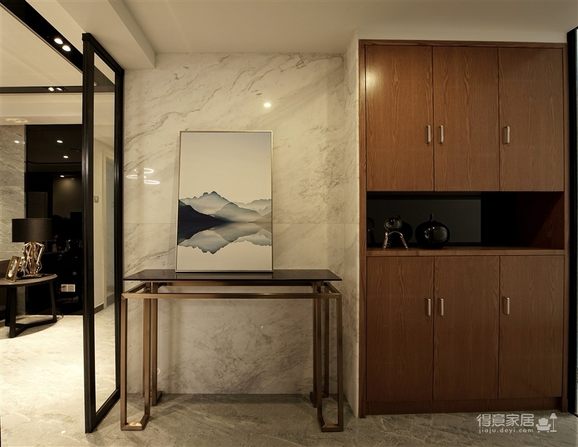 现代风格雅致灰调设计系列——用黑白灰的图案提升空间结构图_4