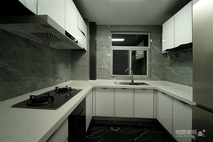 现代风格雅致灰调设计系列——用黑白灰的图案提升空间结构图_9
