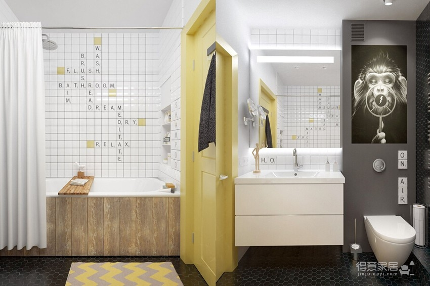 【北欧】40平一室一厅北欧装修效果