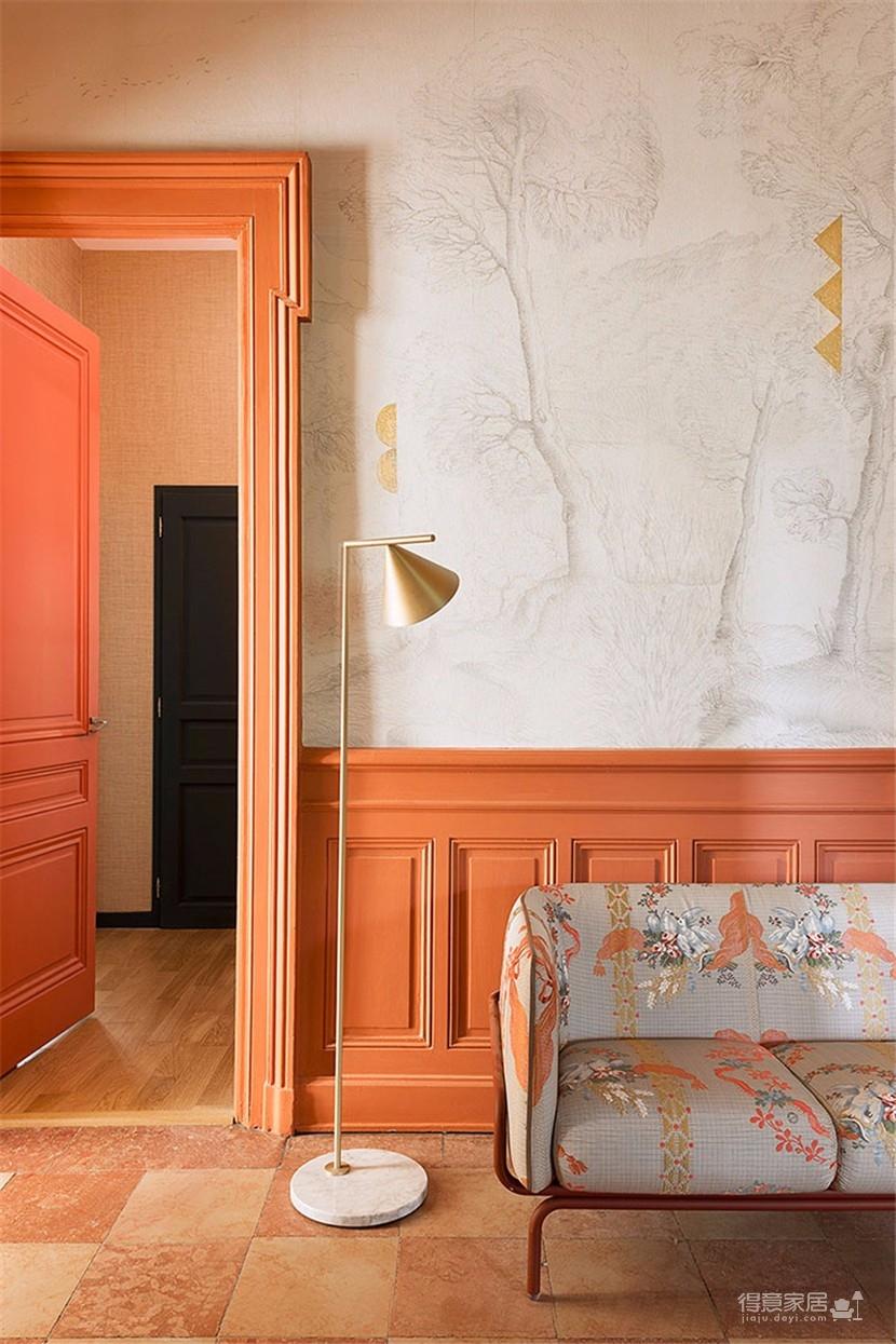 这间欧式现代公寓,用色彩传达情绪图_8