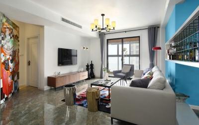 【现代简约】120平现代简约三室两厅